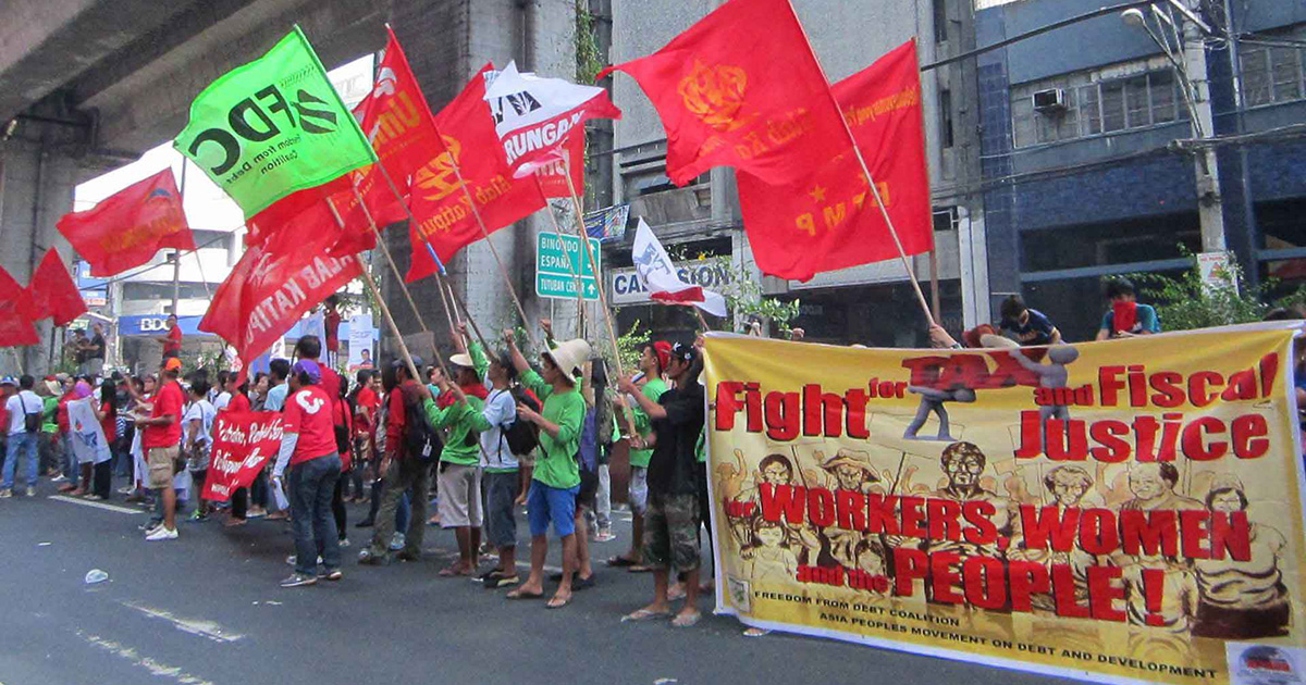 Asian movements join global call for tax justice