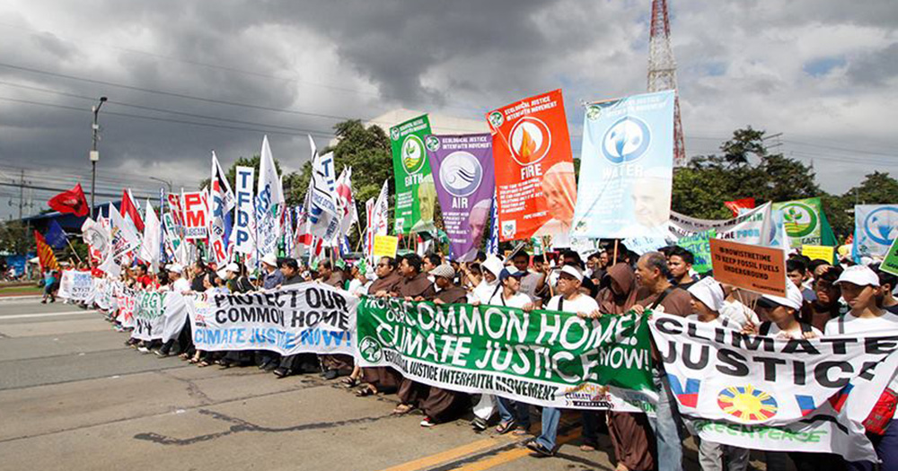 Climate Justice March, Philippines - 350.org