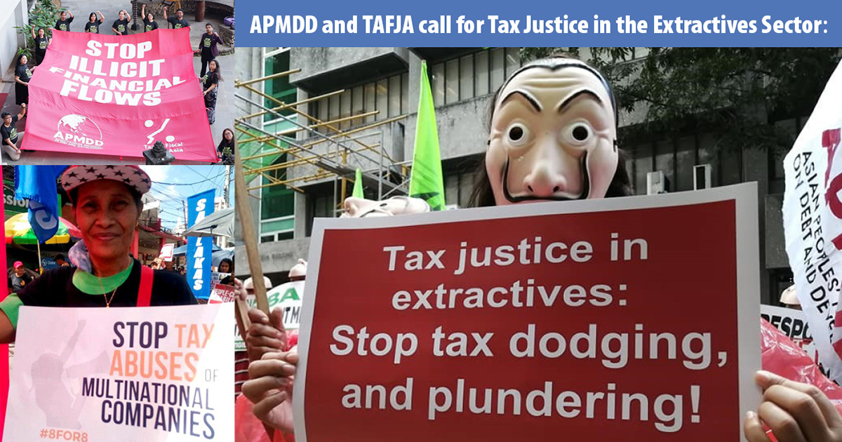 Tax Justice in the Extractives Sector: A Renewed Call in COVID times to Stop Tax Abuse and Plunder