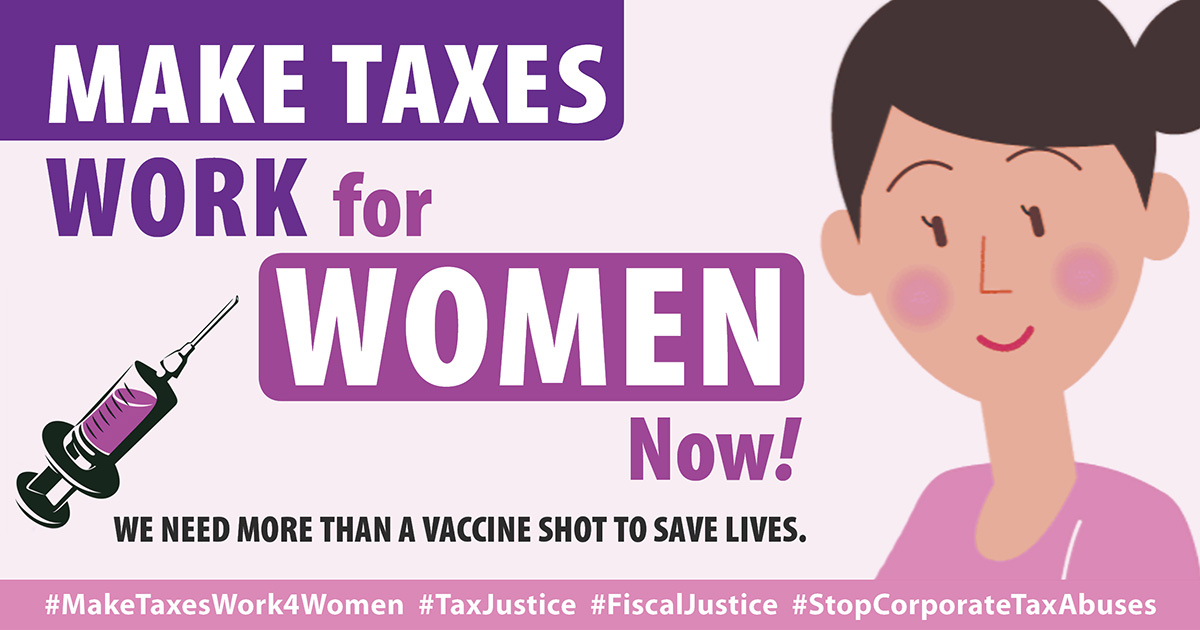 Make Taxes Work for Women Now!