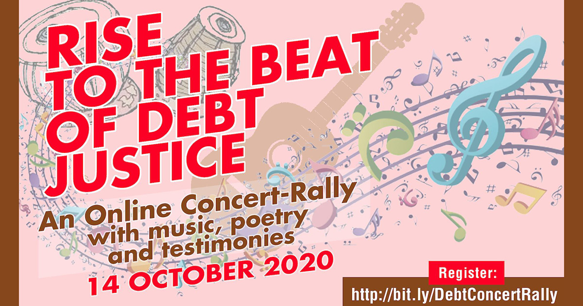 "Get Up & ""Rise to the Beat of Debt Justice"""