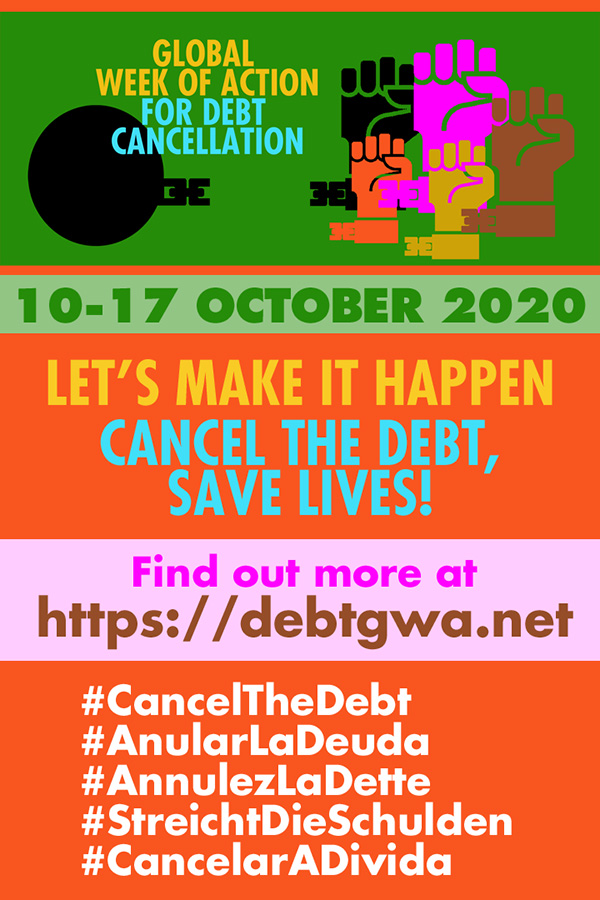 Time to Act: Take Part in the Global Week of Action for Debt Cancellation